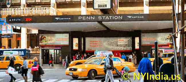 Penn Station © NYIndia.us.