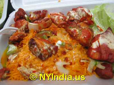 Biryani Cart NYC Chicken Tikka