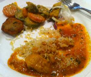indus valley chicken curry