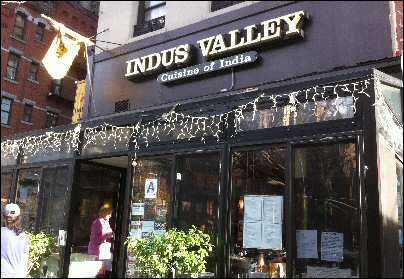 Manhattan valley  nyc Indian Restaurant
